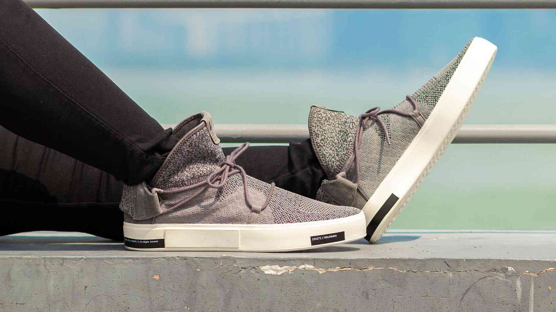 VIA, weatherproof knit shoes made from recycled ocean plastic