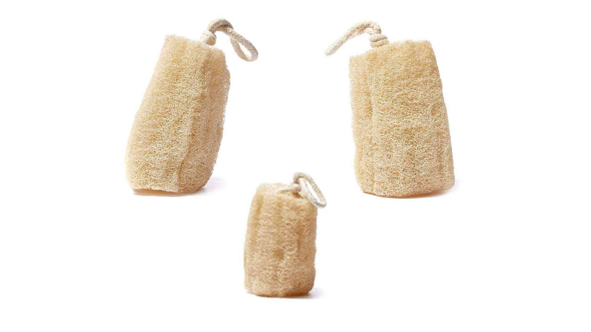CraftsOfEgypt Natural SPA Beauty Bath Sponge Body Puff Scrubber