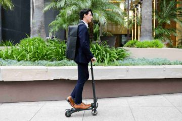 The MiniFalcon Is An Ultimate Electric Scooter That Fits In A Backpack