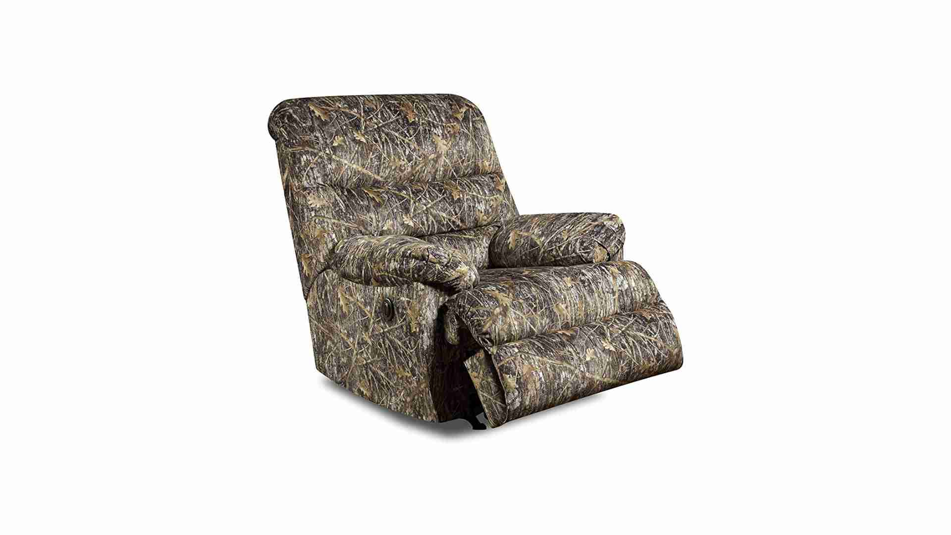 Simmons Upholstery Conceal Camo Power Rocker Recliner