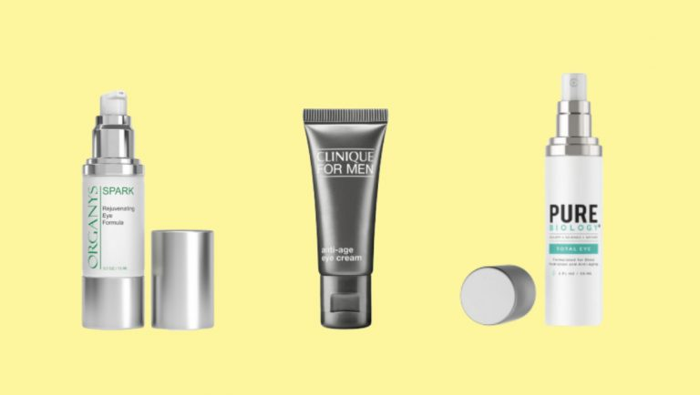 Best Men's Eye Cream For Dark Circles And Puffiness