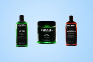Top 5 Brickell Men's Skincare Products