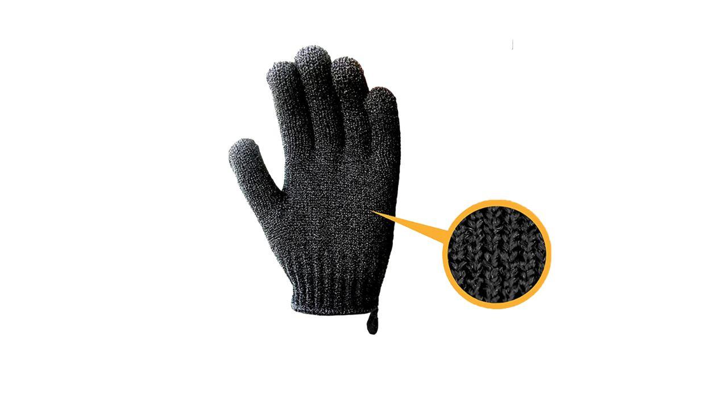 MIG4U exfoliating gloves