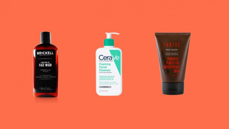 Best Face Washes For Men With Oily Skin