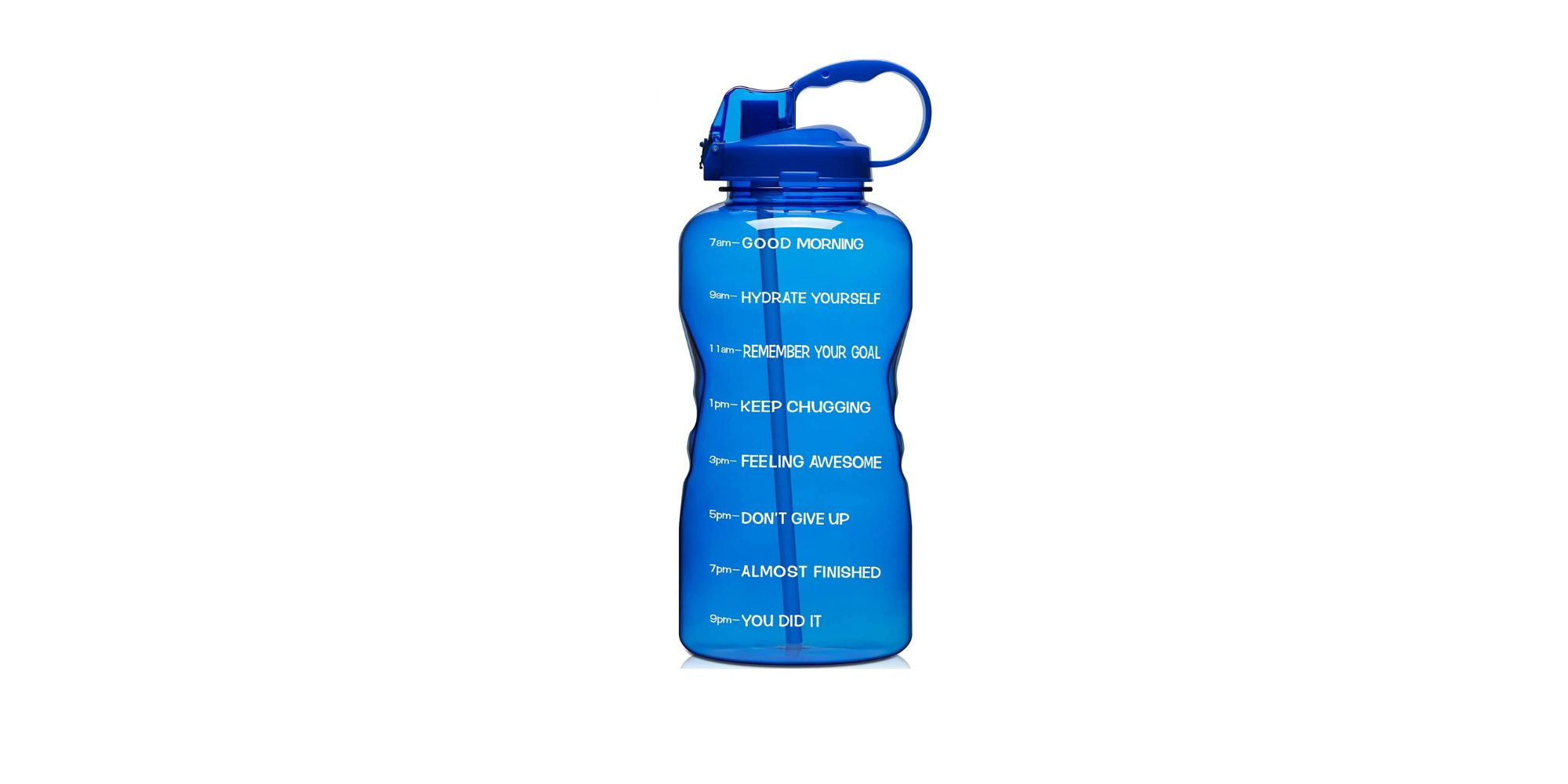 Venture Pal is 1 gallon motivational and BPA-free leakproof water bottle