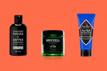 best face scrubs for men