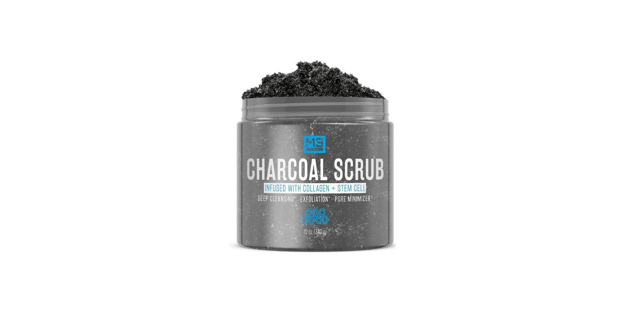 M3 Naturals Premium Activated Charcoal Scrub