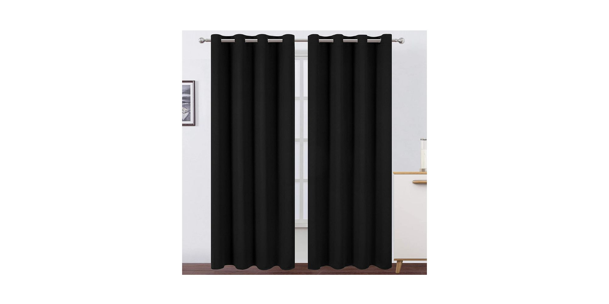 LEMOMO Blackout Curtains