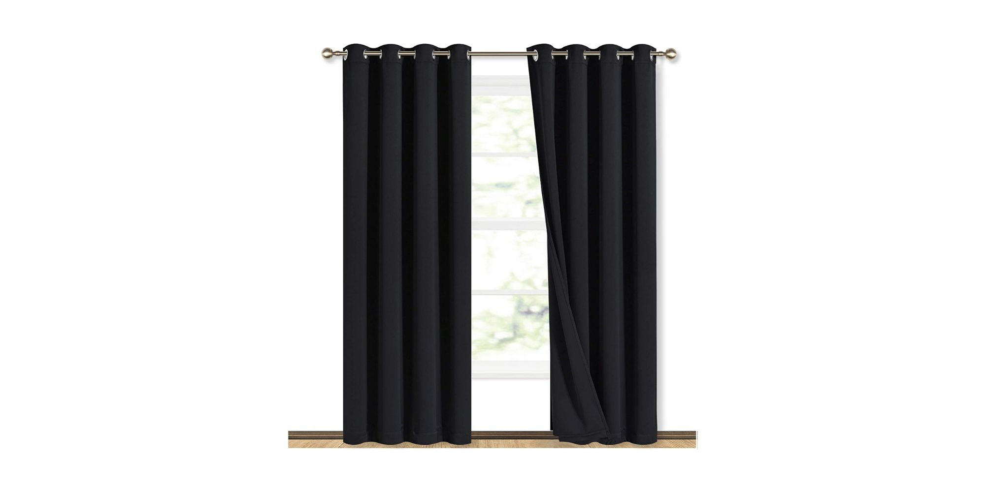 NICETOWN Full Shade Curtain Panels
