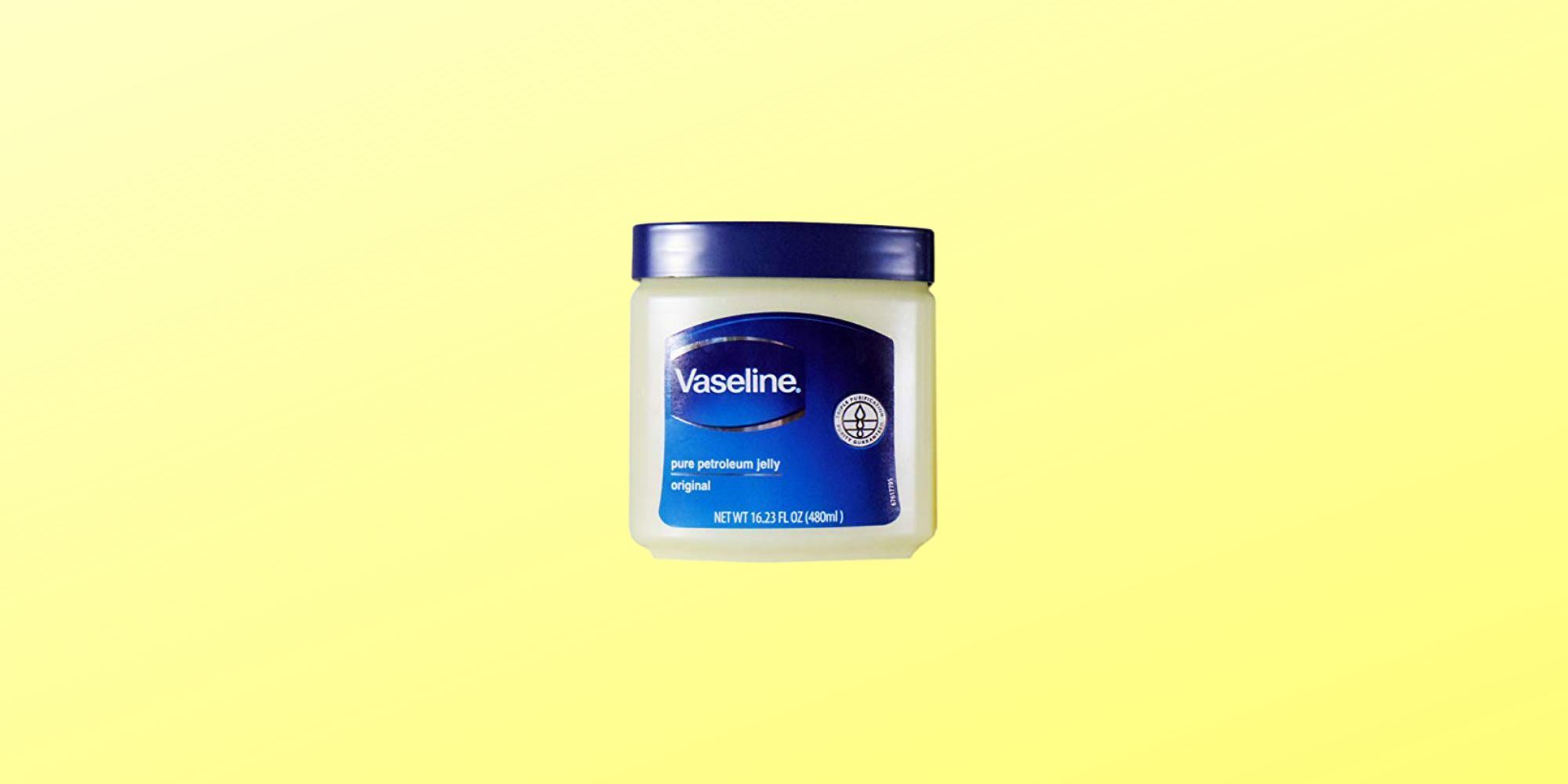 Use Vaseline to Help Reduce the Appearance of Scars