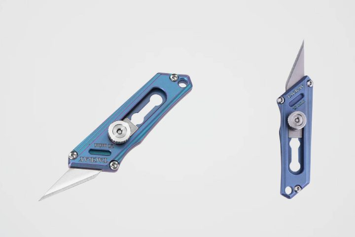 TACRAY Titanium Mini Knife