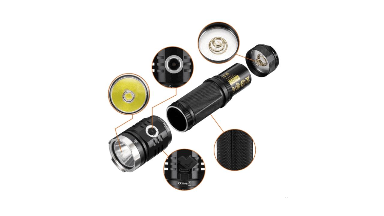 Sofirn SP33 V3 flashlight