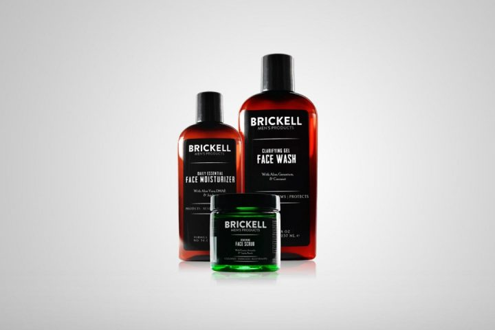 Brickell Men's Daily Advanced Face Care Routine I