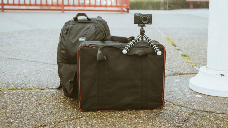 packing folders for travel
